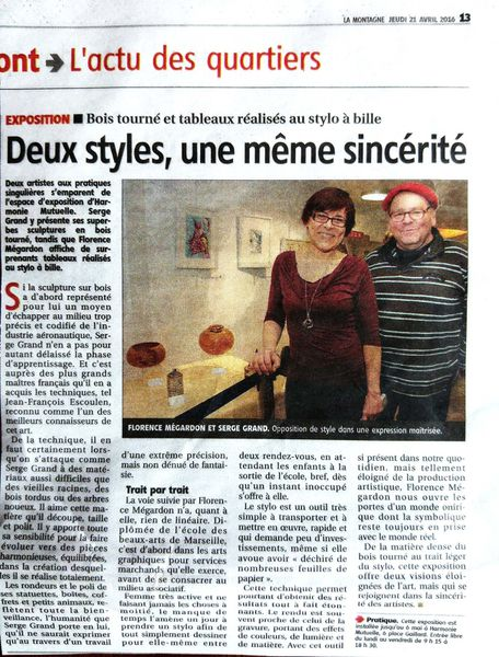 Article Presse La Montagne