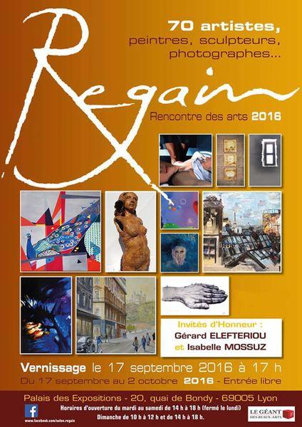 Salon Regain au Palais des Exposition à Lyon