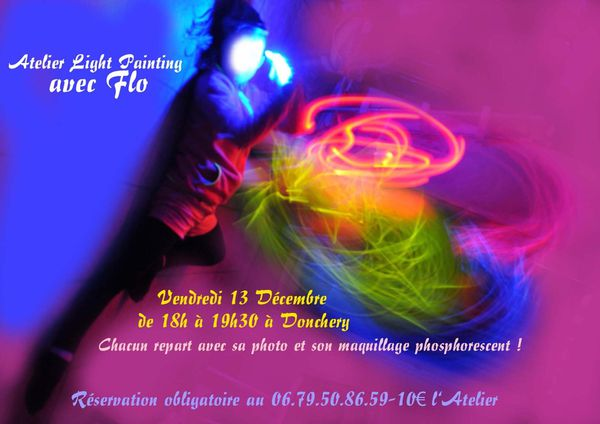 Atelier Light Painting avec Flo