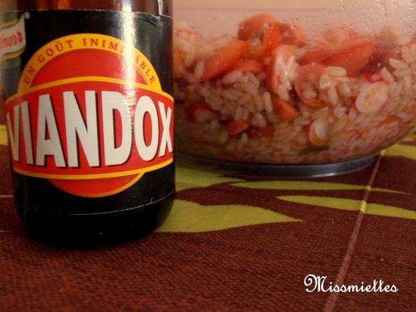 Salade de riz de mon enfance