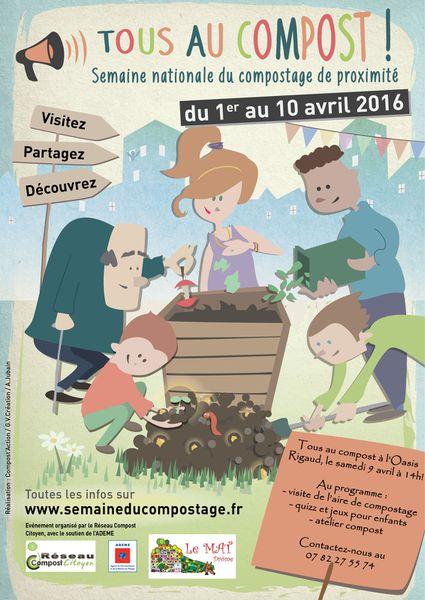 Le 9 avril, tous au compost !