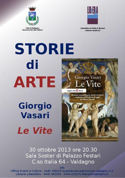 Storie di Arte: Marco Cavalli presente &quot&#x3B;Le vite di Vasari&quot&#x3B;