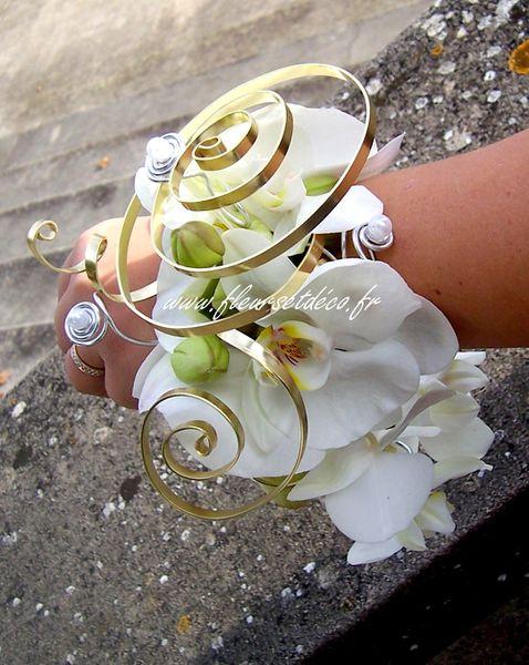 Bracelet d'orchidée