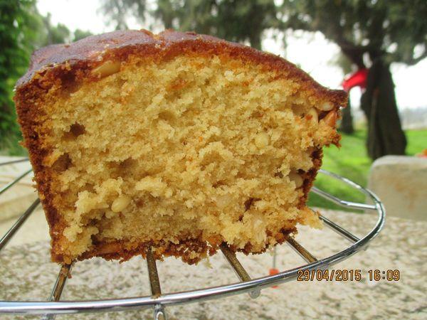 Cake aux pignons de pin et Miel de sapin
