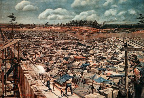 La prison d'Andersonville, l'enfer des nordistes