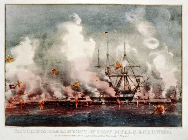 La bataille de Port Royal 3 - 7 novembre 1861