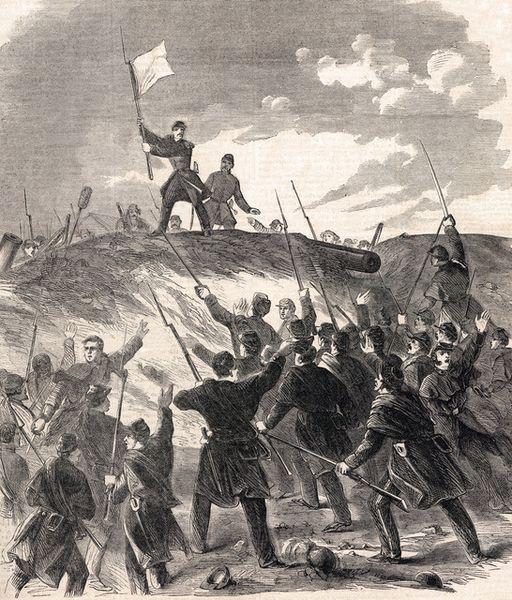 La bataille de Fort Donelson 12 - 16 février 1862
