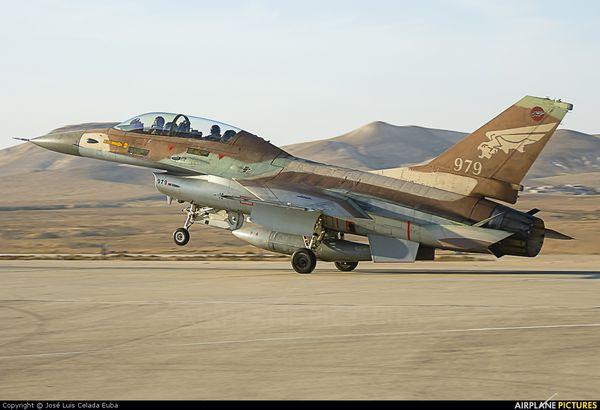 Crash d'un F-16i israélien