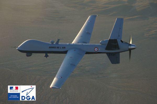 Le drone Reaper français vole pour la première fois au Niger