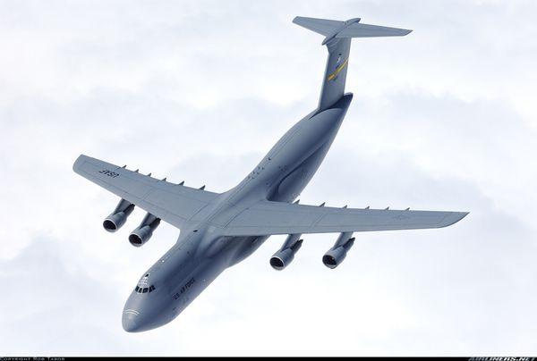 Un C-5 Galaxy se dépressurise au cours d'un vol