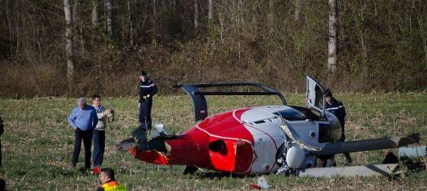 Un EC-120 de l'ALAT s'écrase dans le Béarn
