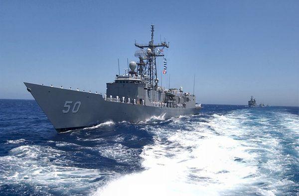 L'USS Taylor envoyée pour sécuriser les Jeux Olympiques s'échoue