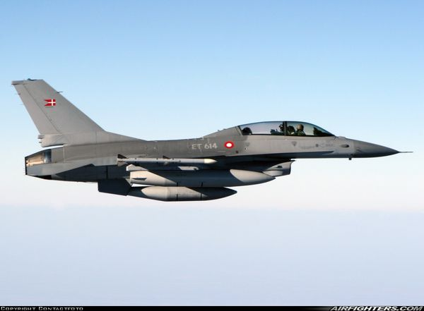 Le Danemark lance un appel d'offres pour le remplacement de ses F-16