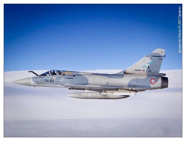 ACTUALISE - Un Mirage 2000-5F de l'Armée de l'Air s'écrase en Meurthe-et-Moselle