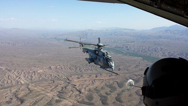 Deux Caracal de l'Armée de l'Air et des commandos aux Etats-Unis pour un grand exercice