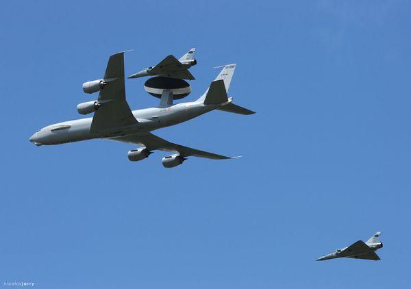 L'Armée de l'Air réceptionne le premier E-3F AWACS modernisé