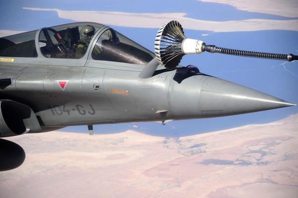 Les Rafale déployés en Irak sont pleinement opérationnels avec les ravitailleurs de la coalition