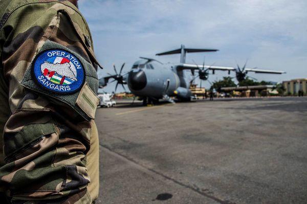 L'A400M se pose pour la première fois en Centrafrique