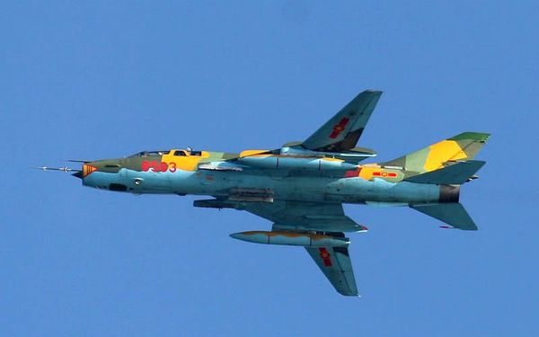 Deux Su-22 vietnamiens se percutent en vol lors d'un exercice