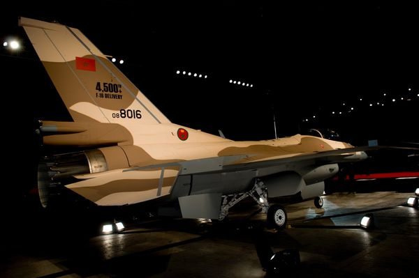Lockheed Martin livre son 4 500ème F-16 Fighting Falcon