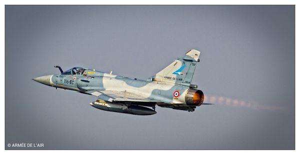 Permanence opérationnelle : L'Armée de l'Air a effectué 231 interceptions au premier trimestre 2015