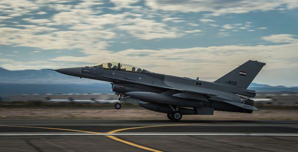 Un F-16C irakien s'est écrasé aux Etats-Unis lors d'un entraînement