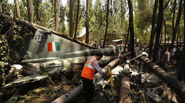 Un Mig-21 de la Force Aérienne Indienne s'est écrasé en Inde