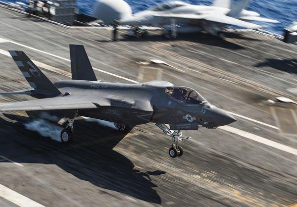 Photo : (c) US Navy - Le F-35C du Air Test and Evaluation Squadron 23 (VX-23). Un escadron d'essais de l'US Navy.