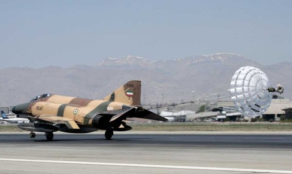 Photo : (c) Inconnu - Un F-4 Phantom II de l'IRIAF.