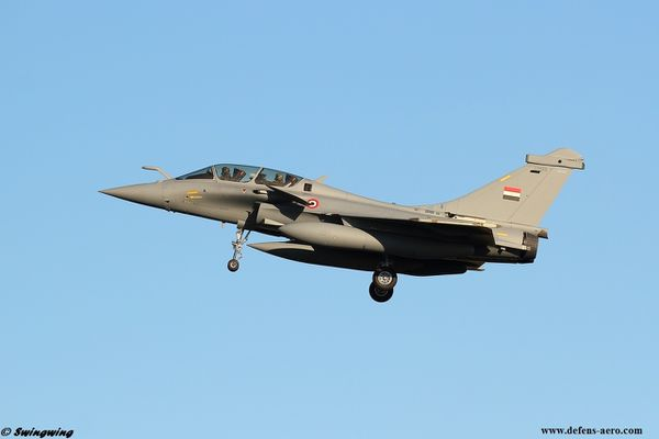 Photo : © DR Qwingwing - Rafale DM05 égyptien en finale sur Istres