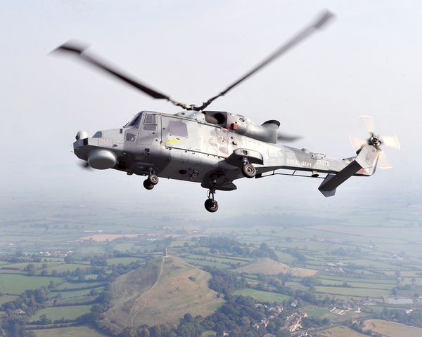 Photo : © UK DoD - Hélicoptère AW159 «Wildcat» de la Royal Navy