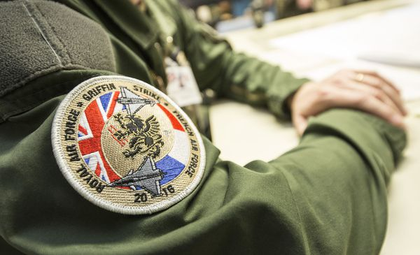 © UK DoD - Patch de la composante Air de Griffin Strike