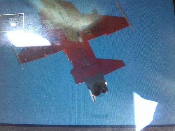 © DR - Un des deux F-5E Tiger II touché dans la collision.