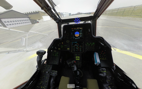 Capture d'écran de la visite à 360° du Tigre HAD