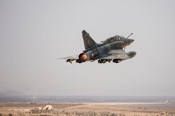 © EMA - Depuis la BAP de Jordanie, décollage en post-combustion pour une nouvelle mission.
