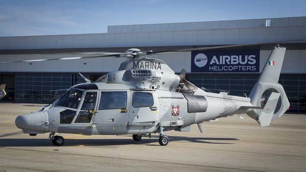© Airbus Helicopters - Le premier AS565 MBe Panther pour la Marine Mexicaine.