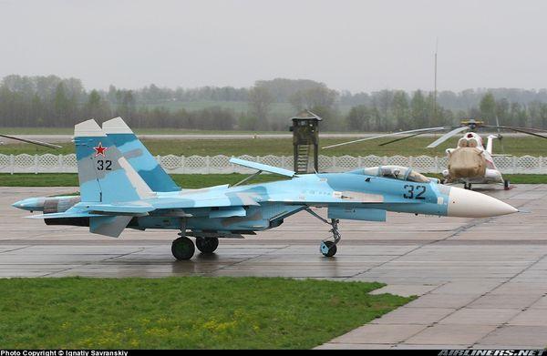 Des SU-27 russes en Biélorussie