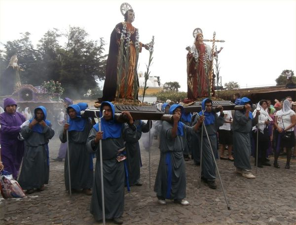 La Semaine Sainte à Antigua Guatemala
