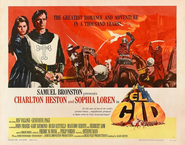 EL CID - ANTHONY MANN 1961-