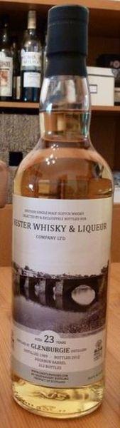 Glenburgie 23 ans Chester Whisky &amp&#x3B; Liqueur Company 1989/2012, IB, 54.8%, 212 bouteilles