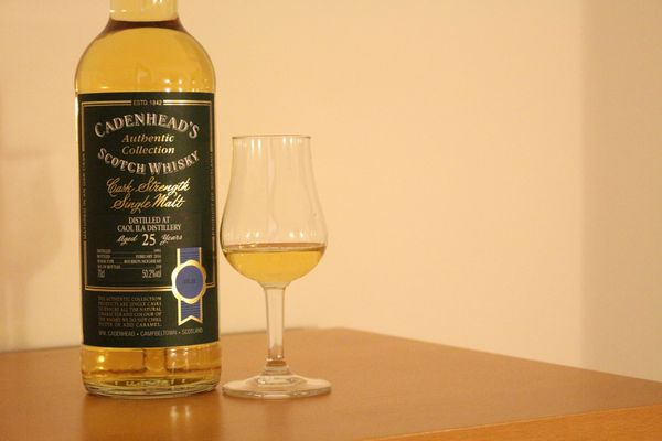 Caol Ila 25 ans Cadenhead's Authentic Collection, 1991/02.2016, 50.2%