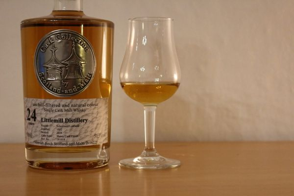 Littlemill 24 ans Cask Collection, 1992/2016, 51.3%