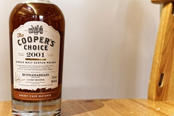 Bunnahabhain 2001/2016 The Cooper's Choice, 14 ans, 46%