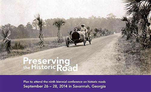 USA 2014 Preserving the Historic Road Conference