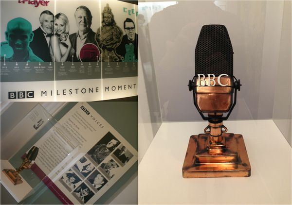 Visite des studios de la BBC