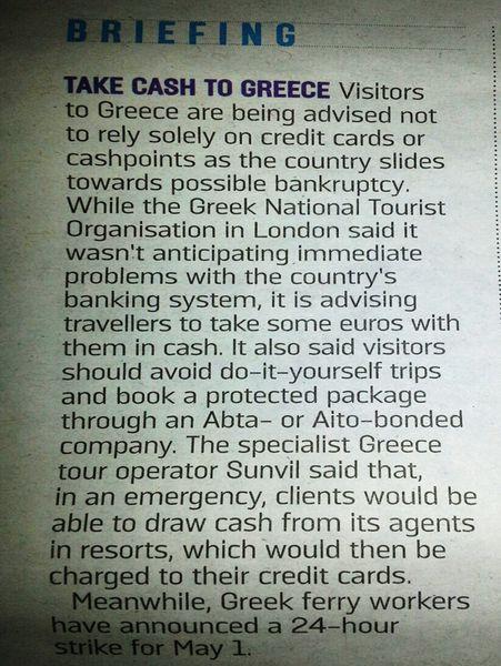 Vive la Grèce!