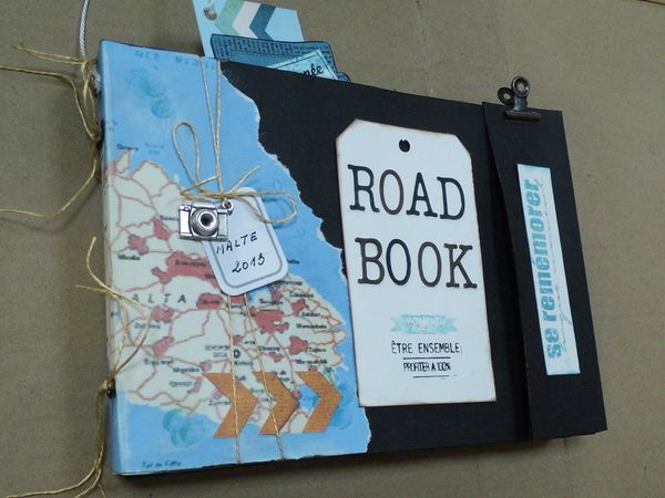 Road Book et paillettes!
