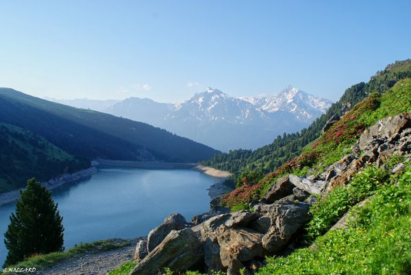 Le lac du GENEPY 2906 m.