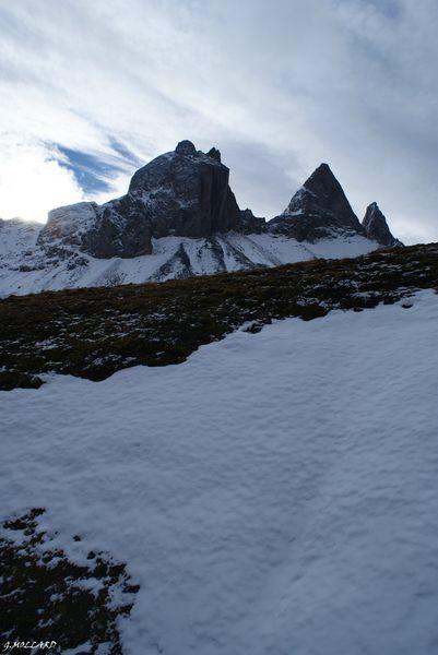les Aiguilles d'Arves,Albiez/Montrond / tour de l'Arvan Villard