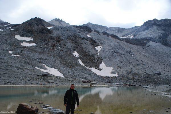 Glacier de Labby/roche Chevriere/lac du Génépy/Sur le sentier de l'Edelweiss/Parc de la Vanoise